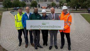 Scottish Renewables Onshore Wind Week at Scottish Parliament.