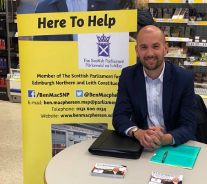 Ben Macpherson is holding a series of advice surgeries in supermarkets around the constituency.