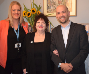 Ben Macphersona visited constituent Anne Burns on Friday 5th October