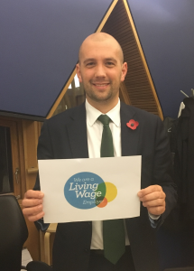 SNP MSP Ben Macpherson has urged businesses in Edinburgh Northern and Leith to sign up to the Scottish Living Wage.